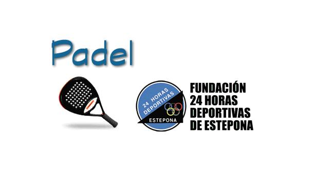 HORARIOS DE LA 1ª LIGA DE PADEL FUNDACION 24 HORAS DEPORTIVAS 4ª OPEN