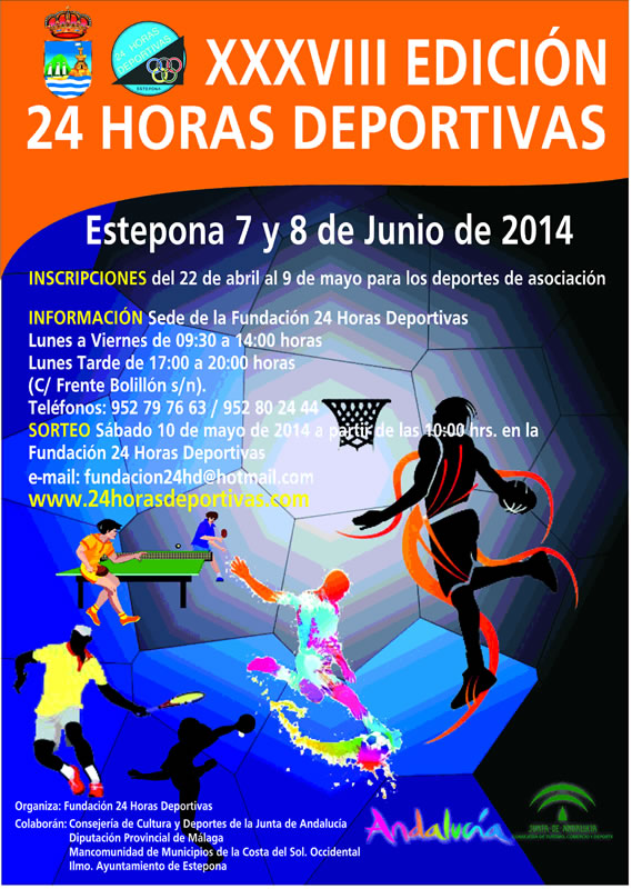 Cartel 24horas 2014