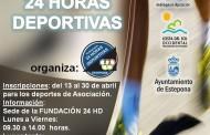 XXXIX Edición 24 Horas Deportivas. Inscripciones